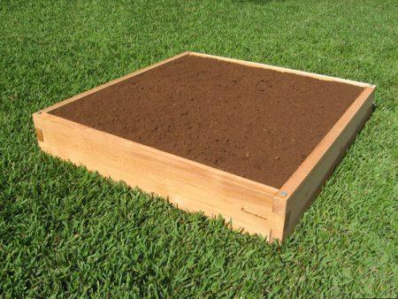 4x4 Cedar Raised Garden Bed 4x4