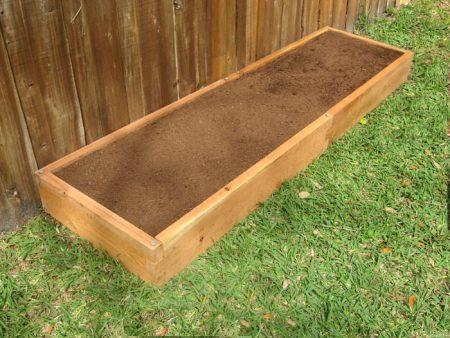 Cedar 2x8 Raised Garden Bed