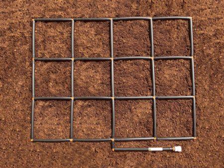 Garden Grid watering system 3x4