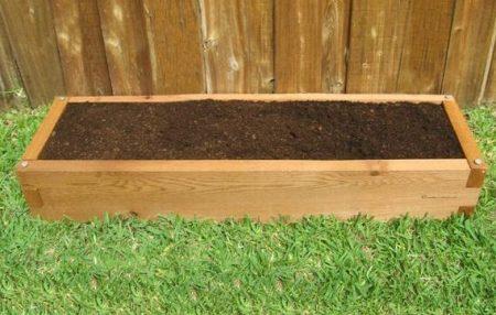 1x4 Cedar Raised Garden Bed