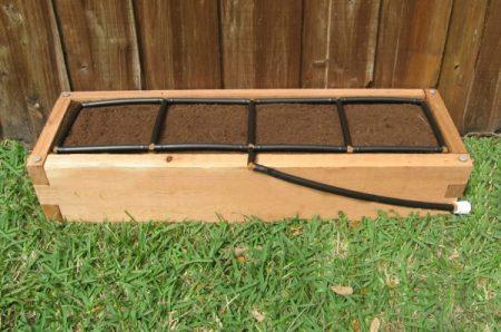 All-in-one, Cedar 1x4 Raised Garden Kit.