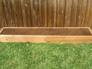 1x8 Cedar Raised Garden Bed
