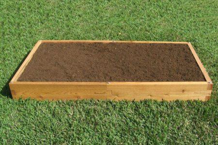 3x6 Cedar Raised Garden Bed
