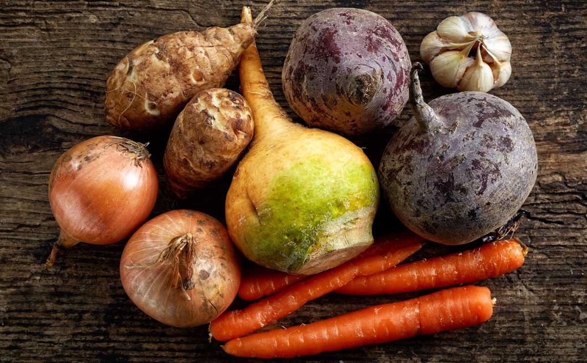 frost tolerant root vegetables