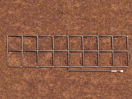 2x8 Garden Grid watering system