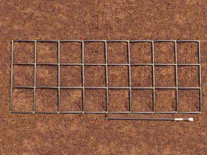3x8 Garden Grid watering system