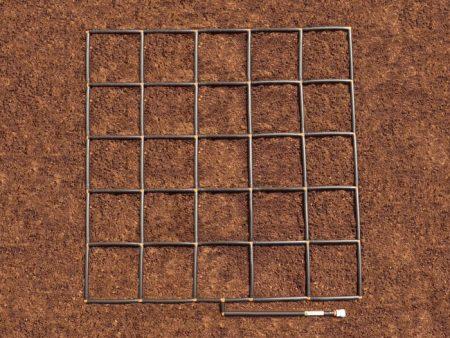 5x5 Garden Grid watering system