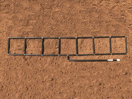 1x7 Garden Grid watering system by GardenInMinutes.com