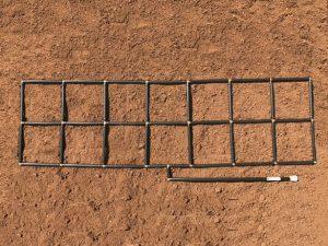 2x7 Garden Grid watering system