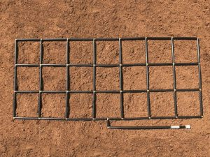3x7 Garden Grid watering system
